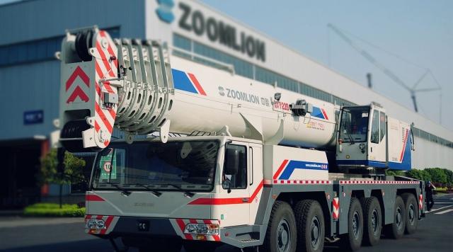 Китайские автокраны Zoomlion