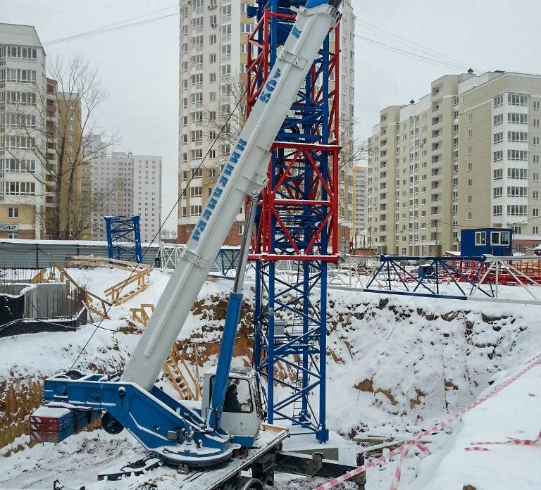 Автопарк кранов ООО КРАН66