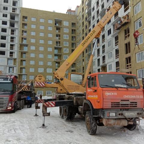 Аренда автокрана для строительства дома, Цветной бульвар