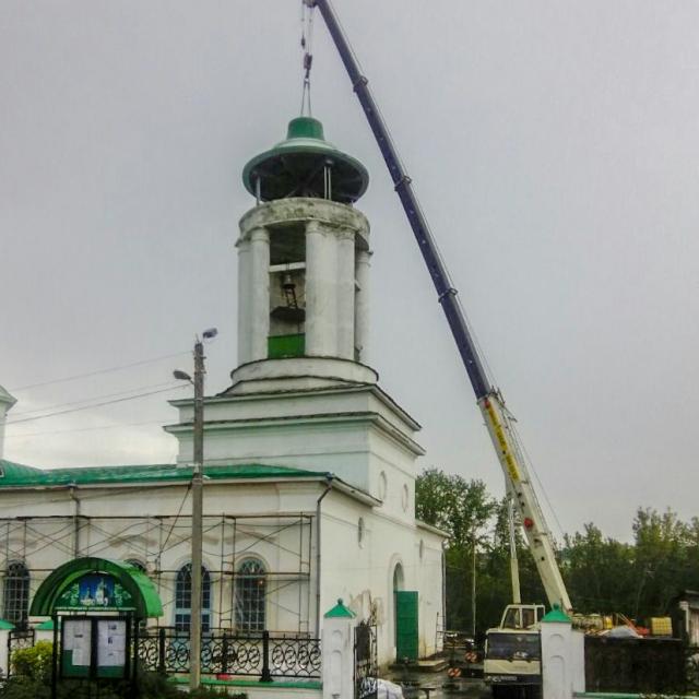 Монтаж колокола