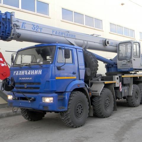 Автокран «Галичанин», история