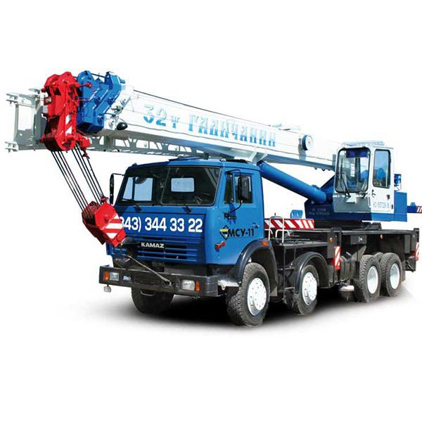 Автокран 32 тонны-спецтехника для серьезных задач